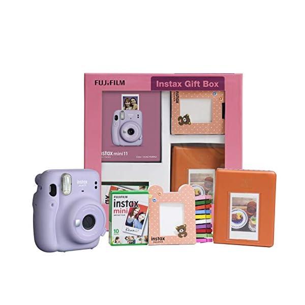 RetinaPix Fujifilm Instax Mini 11 Instant Camera (Lilac Purple) Gift Box
