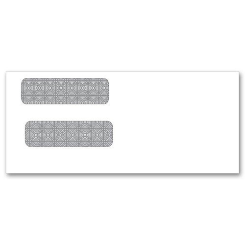 #9 Double Window Check Envelopes