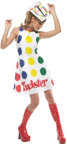 Twister Game Costume - Medium - Dress Size 8-10 -