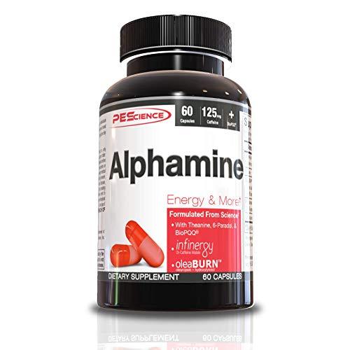 PEScience Alphamine Capsules, 60ct, Thermogenic
