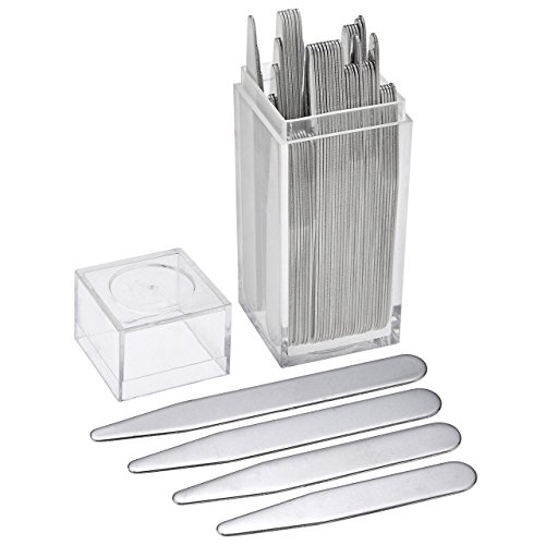 zysta-40-top-quality-metal-collar-stays-bones-stiffeners-for-dress-shirts-4-size-in-clear-plastic-bo
