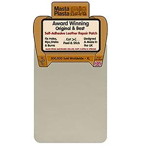 MastaPlasta Patch Autocollant pour la Réparation des Cuirs XL 28 x 20 cm. Choisissez la Couleur. Premiers Secours pour…