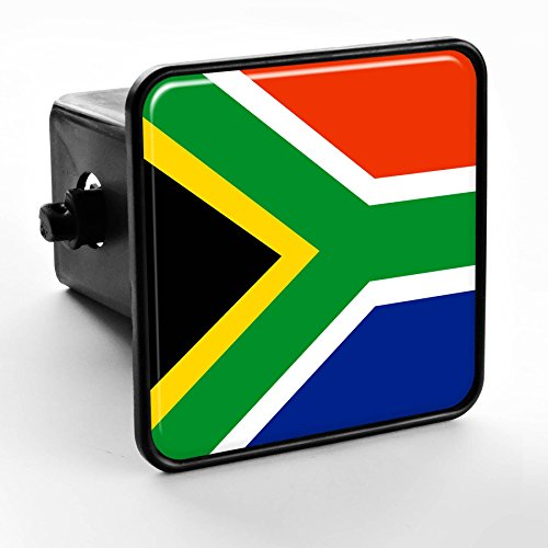 Trailer Hitch Cover - Flag of South Africa (African)