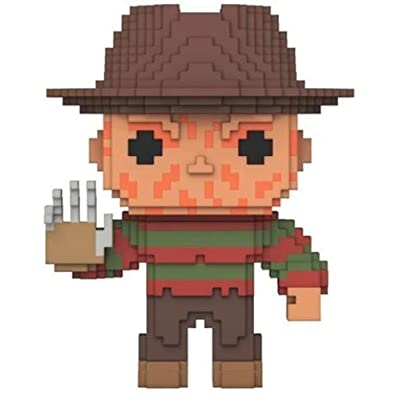 Funko 8 Bit POP!: Horror - Freddy Krueger Collectible Figure: Funko 8-Bit Pop!:: Toys & Games