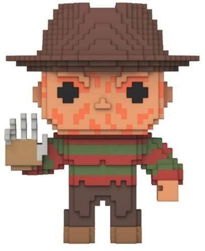 Freddy Krueger Stand - Funko 8 Bit POP!: Horror - Freddy Krueger Collectible Figure
