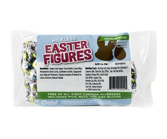 Easter Figures - Milk Free, Nut Free, Gluten Free, Soy Free, Vegan by No Whey Chocolate