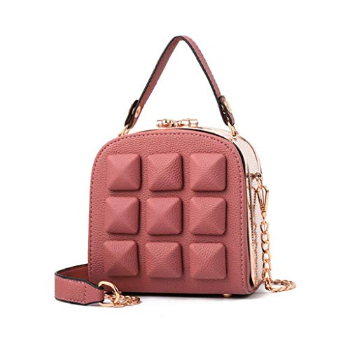 Small Handbag Square Elegant Bride Package Pink Bag Women's red Clutch Party Clutch Dinner UUz6rOwCq