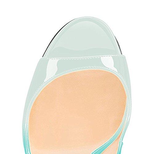 Pumps Femmes Rouge Toe Chaussures Vert Heels Aiguille Sandales High Size Stiletto Peep uBeauty Clair Soles Talon Big Escarpins FX5nwq5SxZ