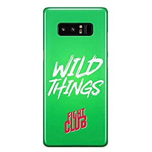Loud Universe Movie Quote Fight Club Wild Things Fight Club Samsung Note 8 Case with 3d Wrap around Edges