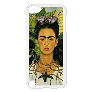 wugdiy Custom Case for iPod Touch 5 with Personalized Design Frida kahlo