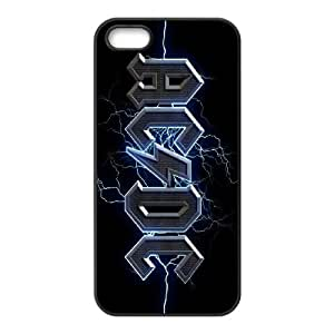Rock Band ACDC Poster phone Case Cover for iPhone 5/5S Cases ART119535
