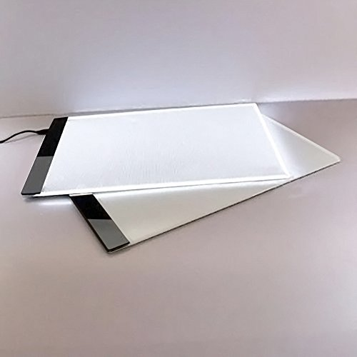 Led light box tracer a4 thin portable light up stencil for Lightbox amazon