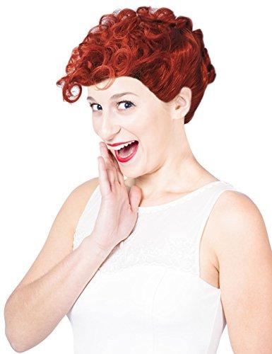 Lucille Ball Wigs (Lucy Wig Lucille Ball Wig Lucille Ball Costume Wig Wilma Wig Wilma Costume)