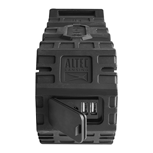 Altec Lansing IMW789-BLG LifeJacket XL Wireless Waterproof Floatable Bluetooth Speaker with 100 ft Wireless range, 40 Hours of Battery Life, and Stereo Pairing, Black/Grey by Altec Lansing (Image #6)