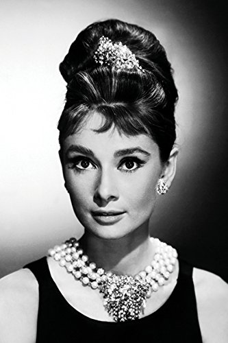 Image result for audrey pearls