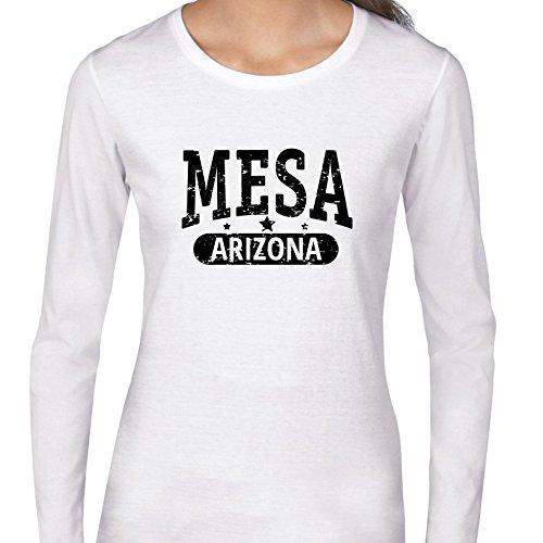 Trendy Mesa, Arizona With Stars Women's Long Sleeve T-Shirt