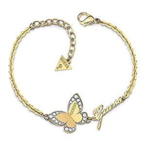 Pulsera Guess Love Butterfly acero inoxidable quirúrgico logo chapada oro UBB78050-S [AC1120] Pulsera Guess Love Butterfly acero inoxidable quirúrgico logo chapada oro UBB78050-S [AC1120] Pulsera Guess Love Butterfly acero inoxidable quirúrgico logo chapada oro UBB78050-S [AC1120]