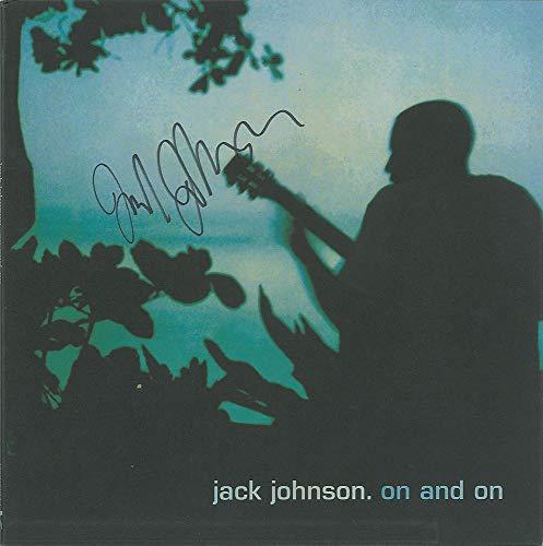 Jack Johnson Autographed vinyl record album. Scarce. Beckett BAS COA