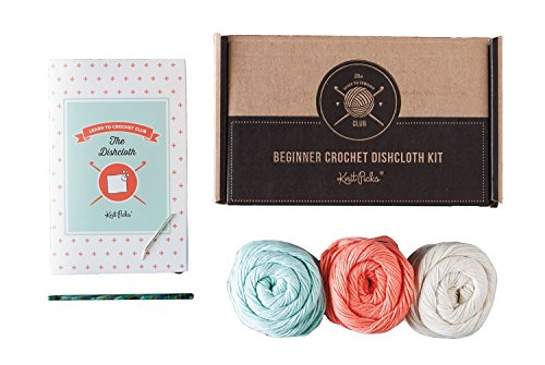 Learn to Crochet Kit: Dishcloth (Original)