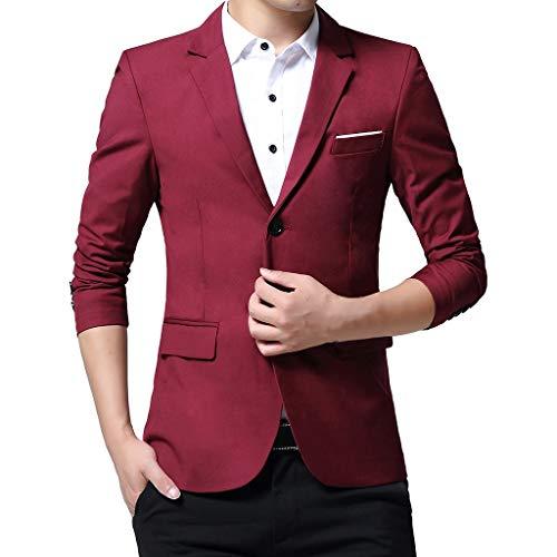 - PromotionMen Casual Jacket, NEARTIME New Fashion Men's Autumn Corduroy Slim Coat Long Sleeve Blouse Suit Blazer Tops