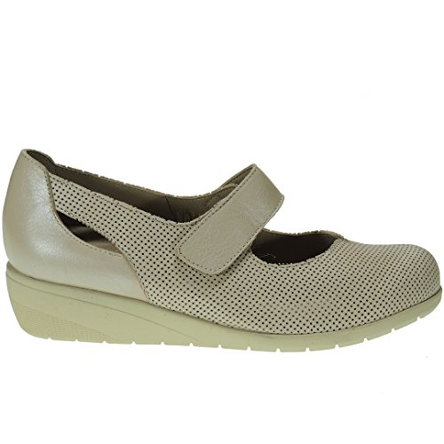 Romero Court Beige Women's Calzados 5 Size Shoes 3 7qzREEwAdn