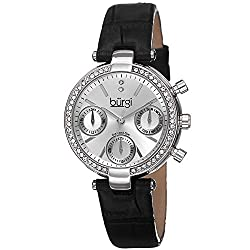 Diamond & Crystal Women's Multifunction Watch