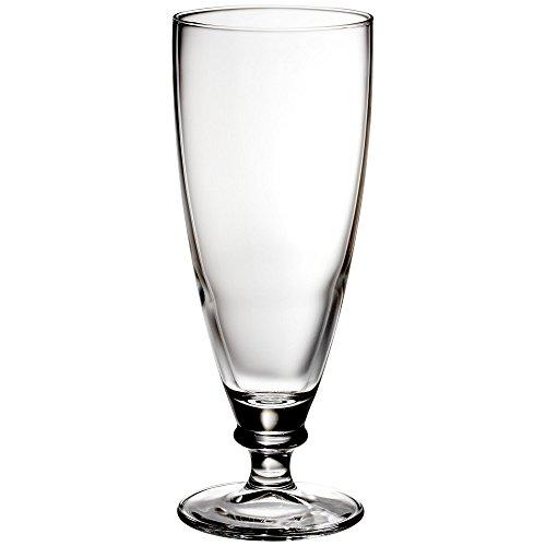 Bormioli Rocco Harmonia Footed Beer Pilsner Glass, Set of 6