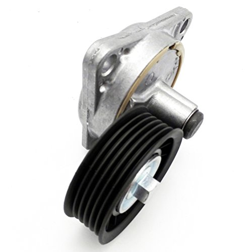 - JSD YS4Z6A228AA Serpentine Belt Tensioner with Pulley for Ford Mazda Mercury 2.0L