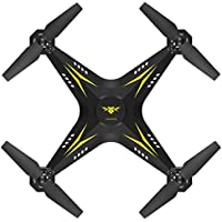 Gbell Quadcopter UAV Remote Control Helicopter 2.4G HD Camera FPV WIFI Drone Real-time for Adults,Boys,Girls