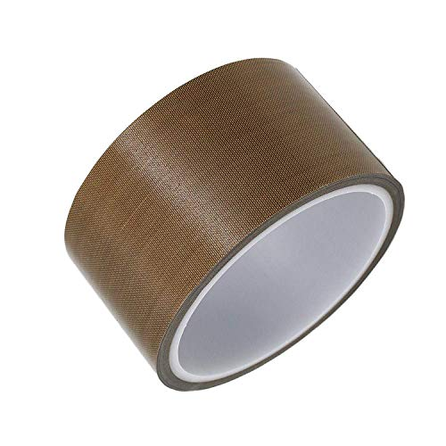 PTFE Tape/Teflon Tape for Vacuum Sealer Machine,Hand and Impulse Sealers (1/2-inch x 33 Feet)-Fits FoodSaver, Seal A Meal, Weston, Cabellas and Many More