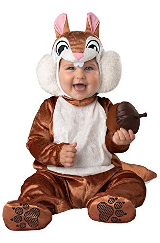 InCharacter Costumes Cheeky Chipmunk Child Costume Extra Small (0-6