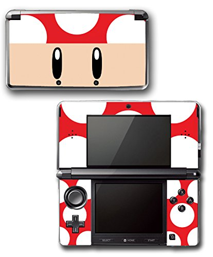 New Mario Bros Super Lite Nintendo Ds (New Super Mario Bros 2 Toad Mushroom Special Video Game Vinyl Decal Skin Sticker Cover for Original Nintendo 3DS System)
