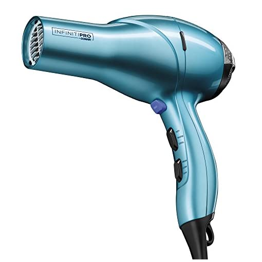 INFINITIPRO BY CONAIR 1875 Watt Salon Performance AC Motor Styling Tool/Hair Dryer; Aqua - 413F8vZ8iwL - INFINITIPRO BY CONAIR 1875 Watt Salon Performance AC Motor Styling Tool/Hair Dryer; Aqua – Amazon Exclusive