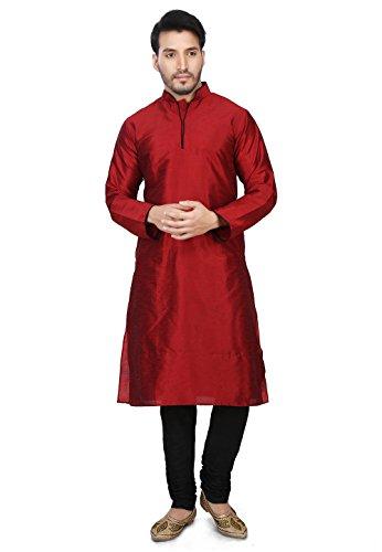 33afc02c8 Dupion Silk Kurta Pajama Bollywood Men's Designer Indian Kurta Pyjama Set  S-5XL by Cellora