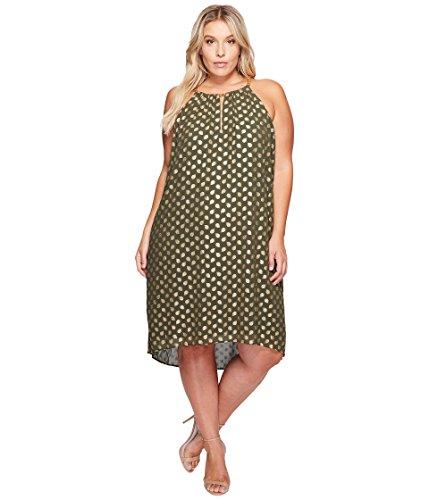 グリル家具慎重[マイケル マイケルコース] MICHAEL Michael Kors レディース Plus Size Bergalia Chain Dress ドレス Ivy 3X (22W-24W) [並行輸入品]