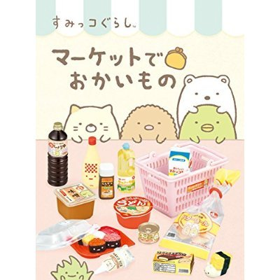 Corner Gurashi market in shopping BOX by Re-Ment