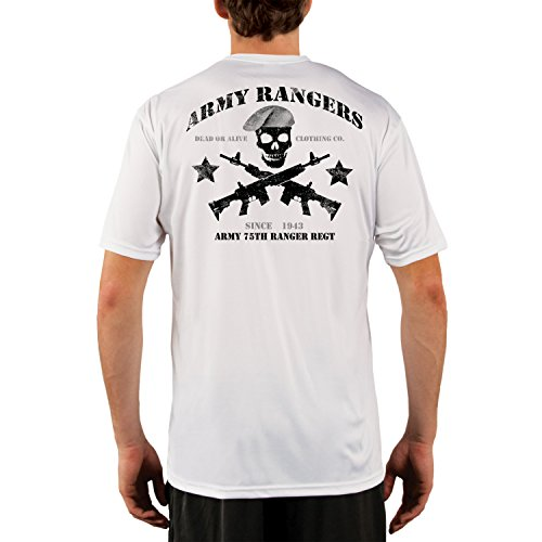 Dead Or Alive Clothing Men's ARMY 75TH RANGER REGT UPF 50...