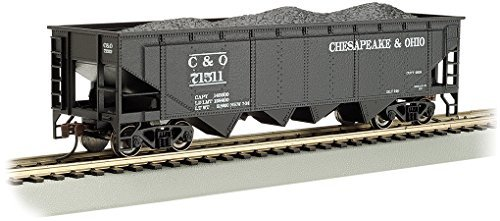 - Bachmann Industries 40' Quad Hopper & O #71511 (HO Scale)