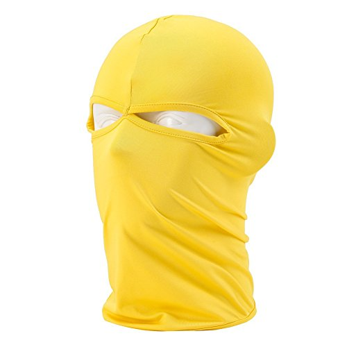 Hi-crazystore Cycling Cap Balaclava Motorcycle Mask Wind Proof Ski Mask (YE)
