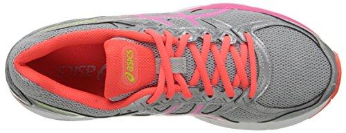 Asics Gel-Exalt 3Zapatilla de Running de la mujer Silver/Pink Glow/Flash Coral