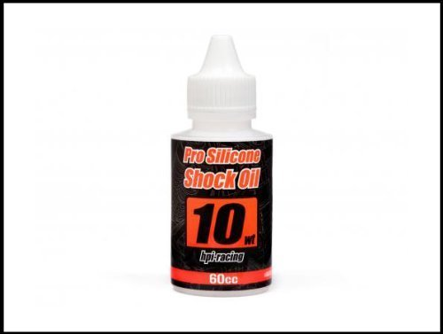 HPI 86951 Pro Silicone Shock Oil 10wt 60cc by HPI Racing