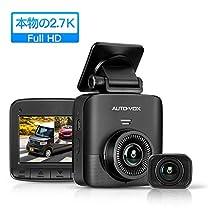 AUTO-VOX ドライブレコーダー 前後カメラ 1520PフルHD 500万画...