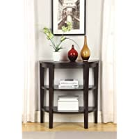 Convenience Concepts Newport 3-Shelf Console Table
