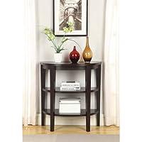 Convenience Concepts Newport 3-Shelf Console Table