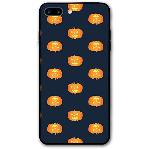 iPhone 7 Plus Mobile Shell iPhone 8 Plus Happy Halloween Pumpkin Mobile Shell Ultra-Thin Gloss Soft Rubber Silicone Soft TPU Scratch Protected Colorful Body Cover for iPhone 7/8 Plus -