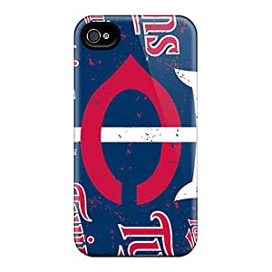 Excellent Hard Phone Cover For Iphone 6plus (gkp13244KwVX) Customized High Resolution Minnesota Twins Skin