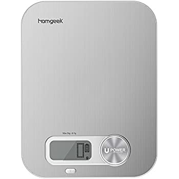 Amazon Com Homgeek Digital Kitchen Scale Battery Free