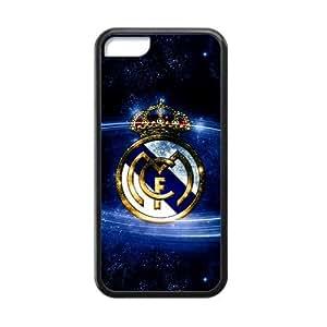 MEIMEI RAROFU Football Logo Real Madrid Club Custom Cases for ipod touch 5 TPU (Laser Technology)LINMM58281