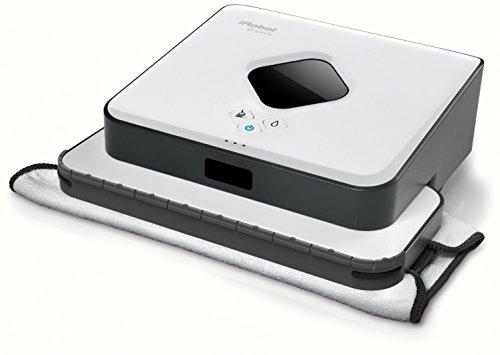 iRobot Braava 390T Staubwischroboter (systematische Feucht- und Trockenreinigung, 2000 Watt) weiß