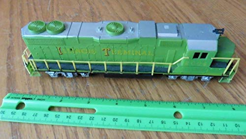 Illinois terminal 2004 Locomotive train HO scale Life-Like 22570 (Locomotive Terminals)